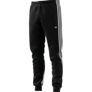 adidas Men's Originals 3-Stripes Wrap Tracksuit Bottoms - Black