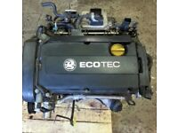 Vauxhall 1.8 ASTRA Engine Zafira / Vectra (16V) PETROL Z18XER 2005-11 ENGINE