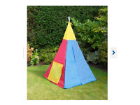Brand new wigwam play tent