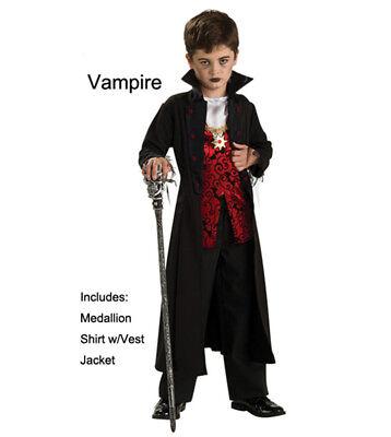 Boys Vampire Costume (Boys Vampire Halloween Costume Dracula  -)