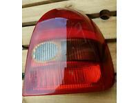 Vauxhall corsa rear offside light