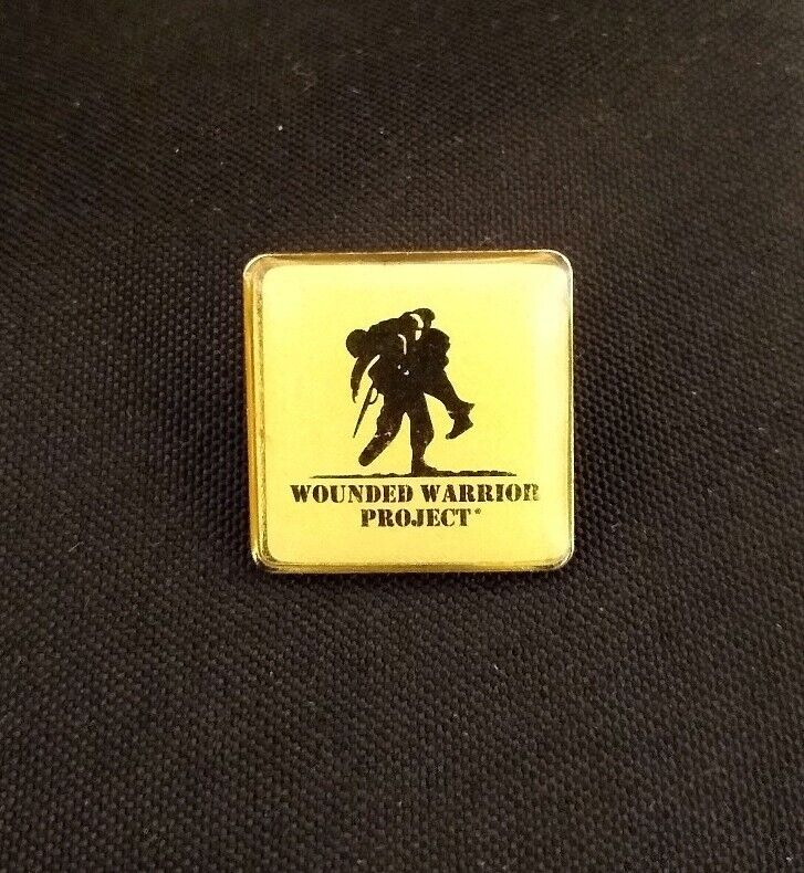 WOUNDED WARRIOR PROJECT Lapel Hat Vest Pin Brooch Veteran Military