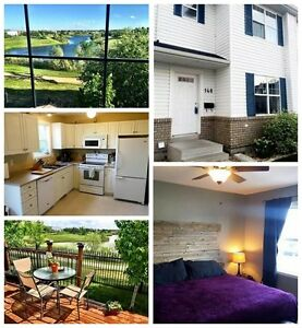 Waterfront townhouse for rent available now!