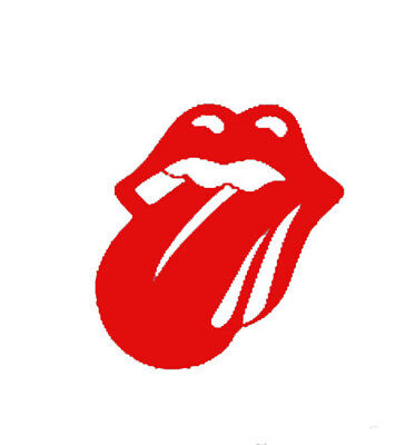 Rolling Stones Logo Mouth Lips Tongue Band Music Logo Vinyl Decal Sticker 71053