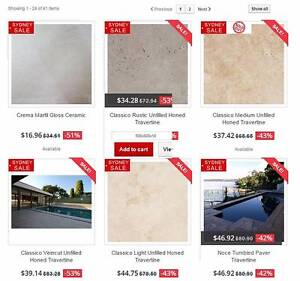 Sydney Tile Clearance Marble Travertine Ceramic Limestone Paver Banksmeadow Botany Bay Area Preview