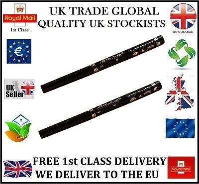 2 x RETRACTABLE BROWN WATERPROOF EYELINER EYE LINER NOT AVON XMAS GIFT UK STOCK!