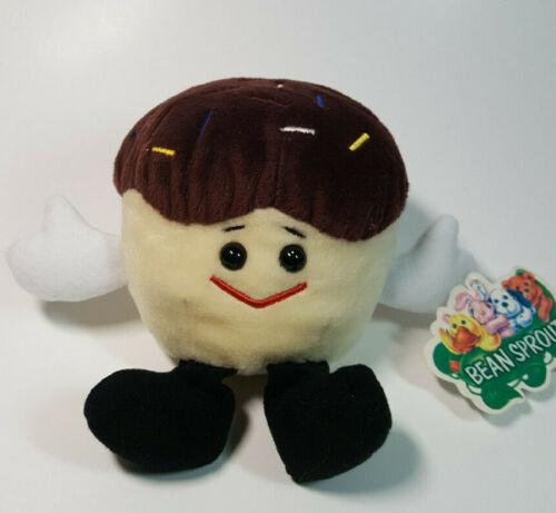 Vintage 1998 Entenmanns 100th Anniverary Sprinkles Cupcake Plush w/ TAG