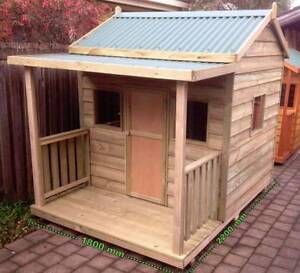 """THE """"EMERALD"""" OUTDOOR WOODEN TIMBER KIDS CUBBY HOUSE AUSTRALIAN Berwick Casey Area Preview"""