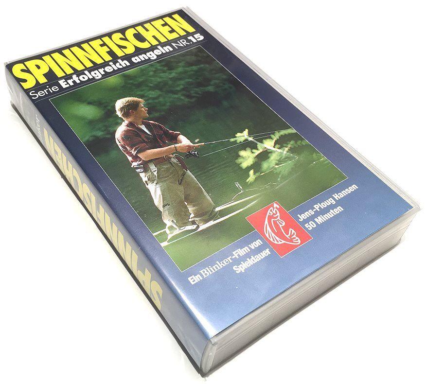 VHS-Video Spinnfischen (BLINKER-Serie Erfolgreich angeln) Tipps Köder Spinner...