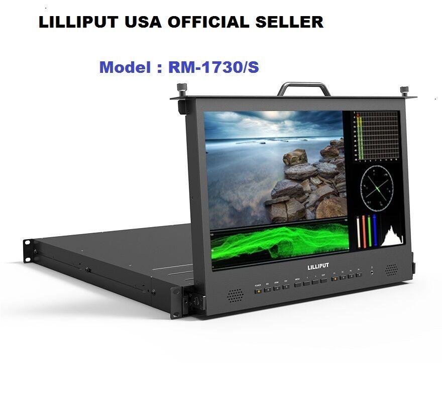 "Lilliput 17.3"" RM-1730S Full HD Pull-out SDI HDMI Metal Broa"