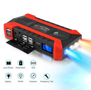 Car Jump Starter + Multifunctional Power Bank
