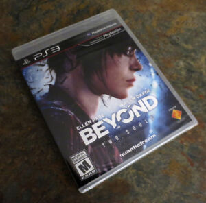 Sealed Beyond Two Souls PS3 Game