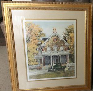 Walter Campbell - Signed - Victorian Print