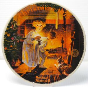"Norman Rockwell "" Somebody's Up There"" Collector Plate"