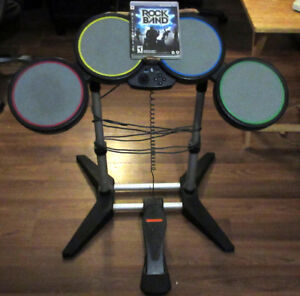 RockBand PS3 Game and Drums Only