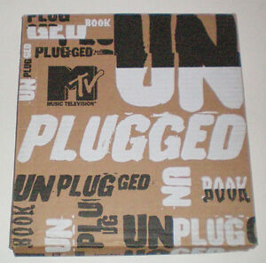 MTV Unplugged First Edition Book Spiral-Bound London Ontario image 1