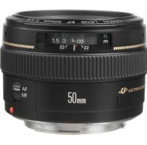Canon 50mm 1.4 - like new