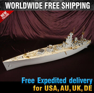 """1//200 USS MISSOURI VALUE PACK FOR TRUMPETER /""""READ FIRST/"""""""