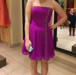 Never Worn Short Junior Prom Dress