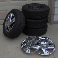 Winter Tire Set with Wheels (Snowtracker)