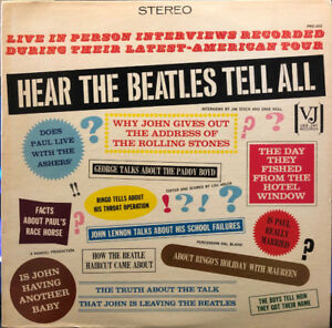 The Beatles - Hear The Beatles Tell All - Vintage Vinyl