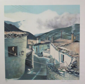 Limited Edition Lithograph Print by the talented Sandra Lawrence