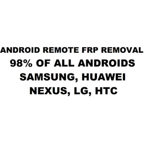 ONLINE REMOTE FRP REMOVAL..STAY HOME AND RELAX WHILE WE UNLOCK