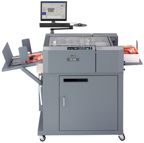 LOW Page Count! PRO Model Duplo DC 616 AP PRO  DC-616 slitter cutter creaser