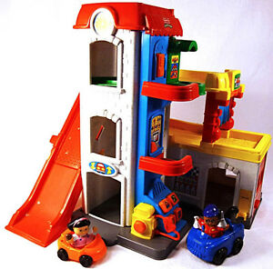 Garage Fun Sounds Little People Fisher-Price