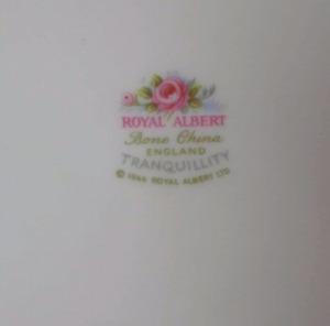NEW PRICE Royal Albert china