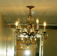 Nice chandelier classic vintage fully operationnal