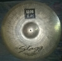 """STAGG DH 20"""" RIDE ROCK BRILLIANT CYMBAL - DH-RR20B"""