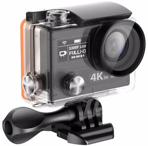 4k@30fps 1080p@60fps Action Camera w/Acc (like GoPro) WiFi for sale  Abbotsford
