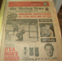 The Hockey News - vintage issues