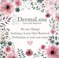 Hiring a Laser Hair Removal Technician at DermaLuxe Medispa