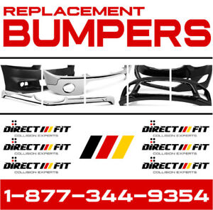 [2002-16] Nissan Altima ► New Replacement Bumpers ✓ ON SALE