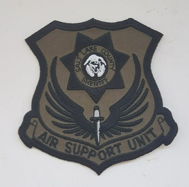 Salt Lake County Sheriff, Rare Hobbyist patches, badges Collectibles, Military, Memorabilia, Memento