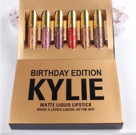 Kylie Jenner birthday edition lipstick NEW never used xmas present