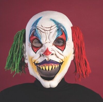 Halloween Cosplay Ragdoll Clown Open Mouth Adult Creepy Circus Mask - Clown Mouth Halloween