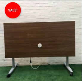 USED CHEAP OFFICE FURNITURE FLIPTOP TABLE
