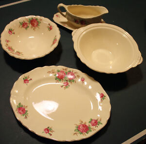 Serving Set Sunshine J&G Meakin England - $10 OBO for the set Cambridge Kitchener Area image 1