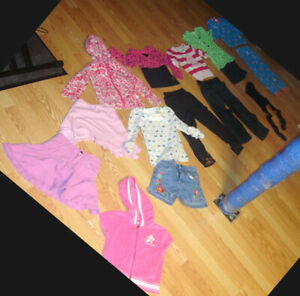 Lot of 14 Piece Clothing Size 4 Years - $35 for all!