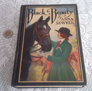 Old Book, Black Beauty by Anna Sewell, 1927