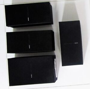MARC JACOBS BLACK AUTHENTIC SHOE BOX DECORATIVE ORGANIZER COSET