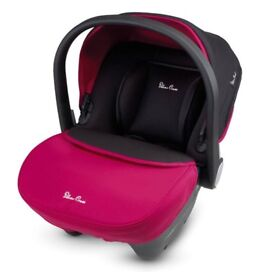 Simplicity car seat silver cross Raspberry BRAND NEW