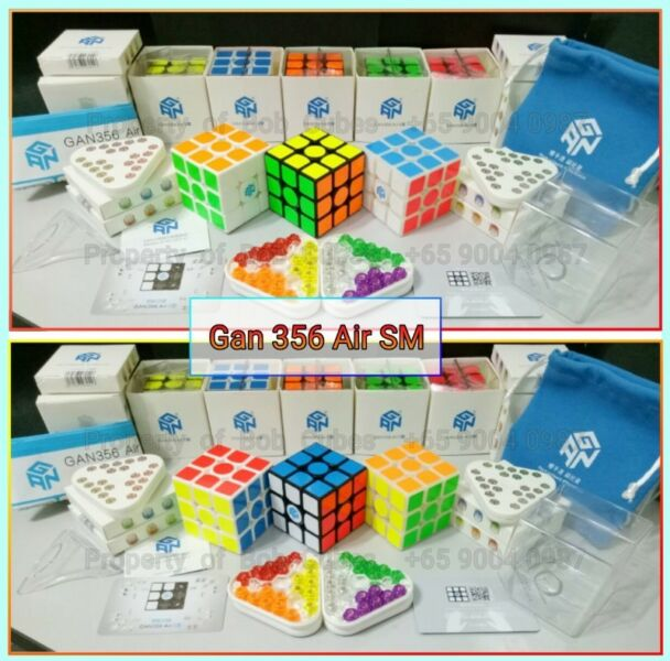 >> >> Gan 356 Air SM 3x3 for sale in Singapore - Brand New Magnetic 3x3 Speedcube