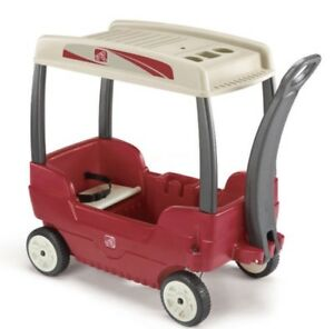 Step 2 wagon with canopy - $55