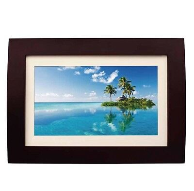 Sylvania Sdpf1089 10 Inch Digital Picture Frame LED Remote 2bg Built In Memory