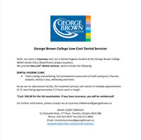 Affordable Dental Cleanings