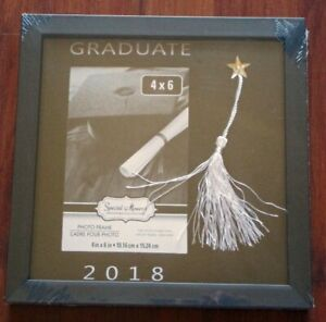 Brand New/still shrink wrapped 2018 Graduate picture frame (hold